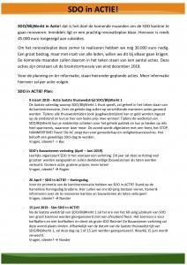 Actieplan - Communiatie leden 2.0